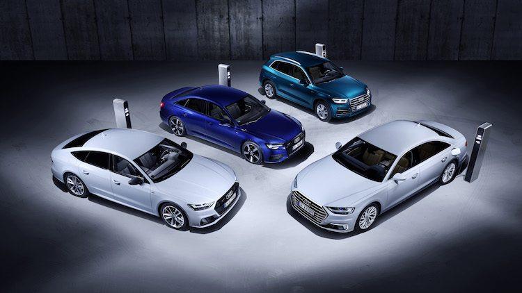 Audi heeft iets voor de A8, A7 Sportback, A6 en Q5