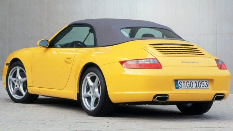 Porsche 911 Carrera Cabriolet (997) '07