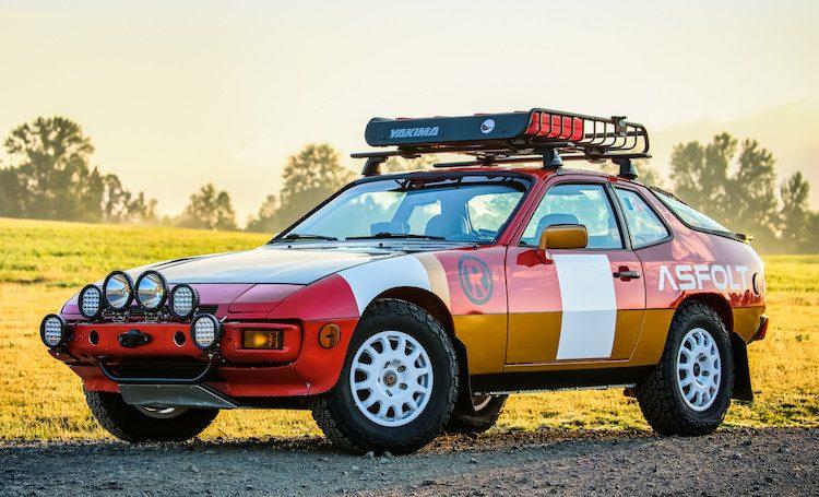 Porsche 924S Baja Rally kan van jou zijn