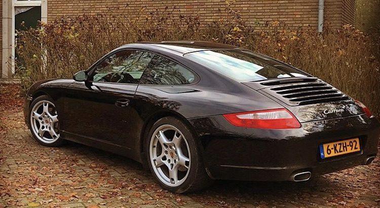 Porsche 997 gestolen