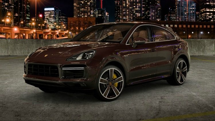 Porsche Cayenne Turbo S E-Hybrid Coupé Exclusive Manufaktur (PO536) '19