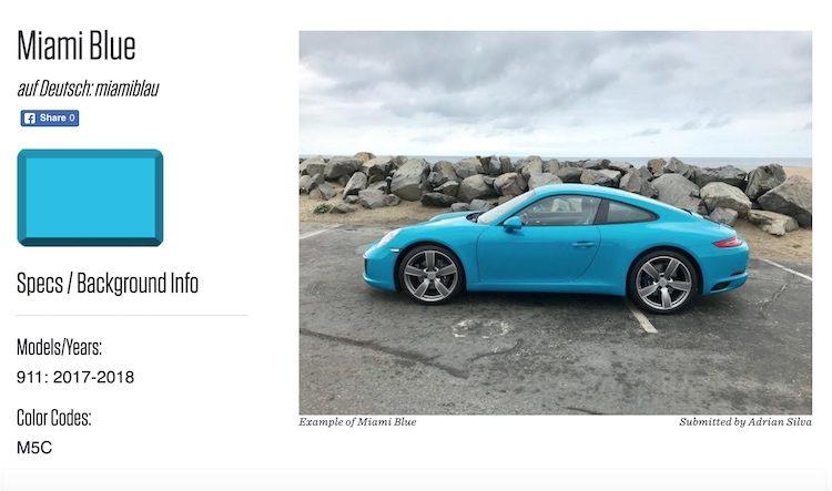 Kom alles te weten over de kleuren van Porsche