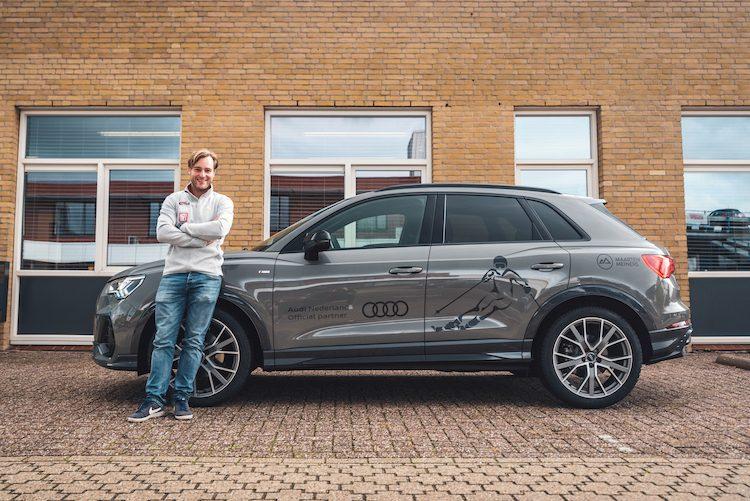 Nieuwe Audi Q3 voor beste Nederlandse alpineskiër