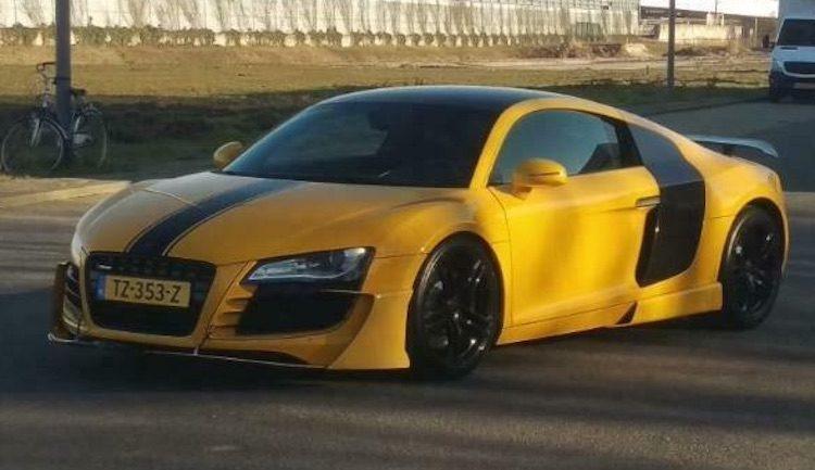 Deze unieke Audi R8 staat in Nederland te koop