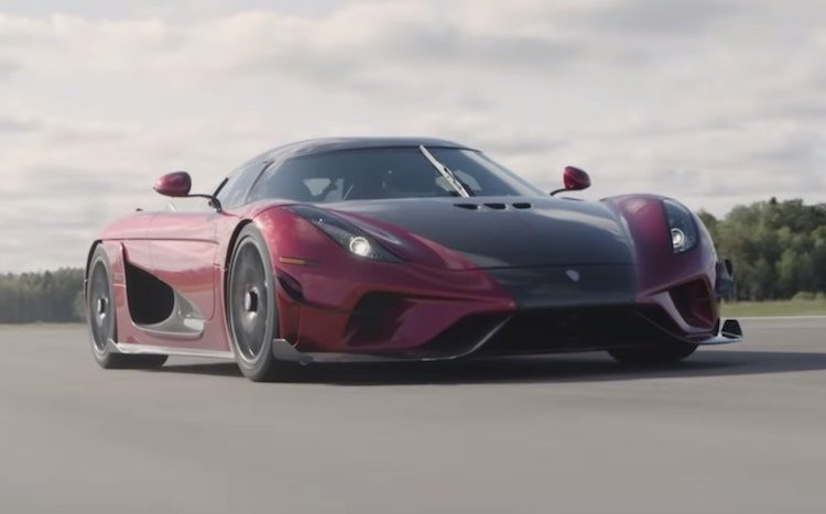 Koenigsegg Regera verbreekt wereldrecord 0-400-0 km/u