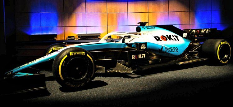 ROKiT Williams Mercedes FW42 '19