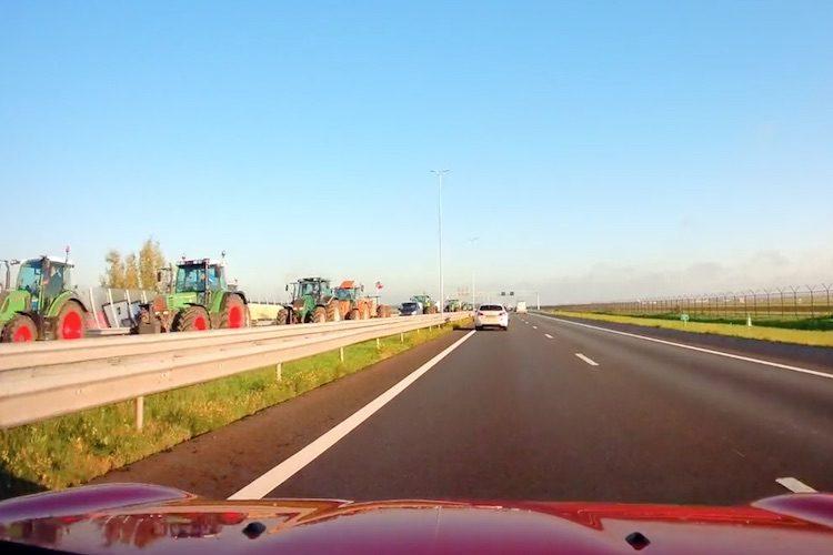 Op deze snelwegen gaan de boeren vandaag protesteren
