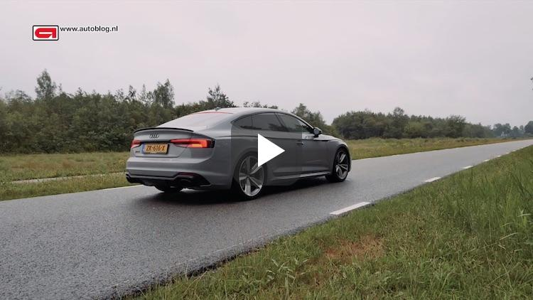 Zo snel is de Audi RS 5 Sportback