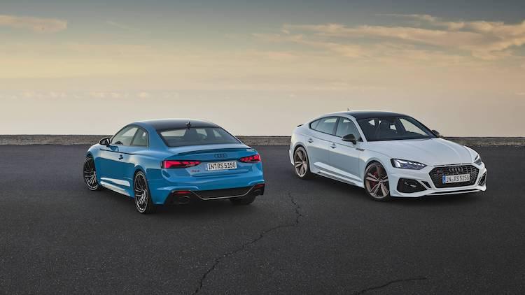 Facelift voor de Audi RS 5 Coupé en Sportback