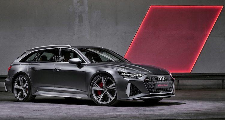 RS6 Avant nieuw