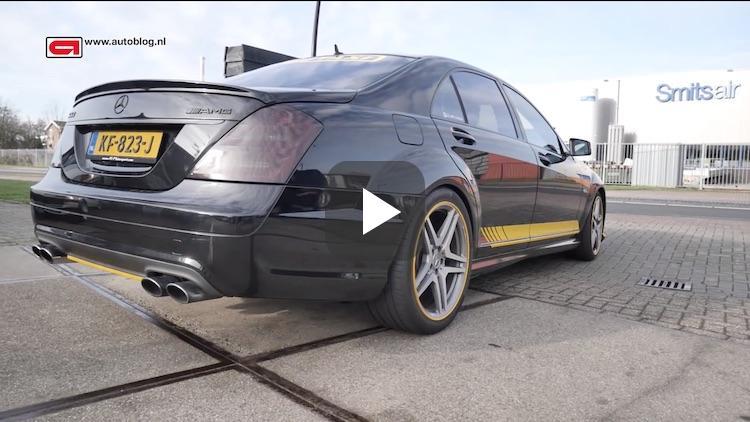 Mijn auto: Mercedes S63 AMG van Bart