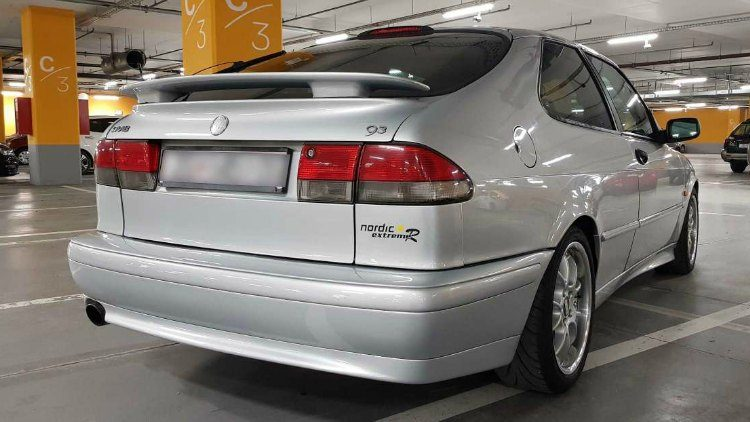 Saab 9-3 Coupe Nordic R '98