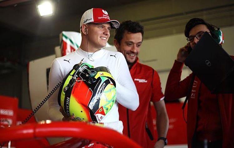 Mick Schumacher stap dichterbij F1, gaat voor Alfa testen