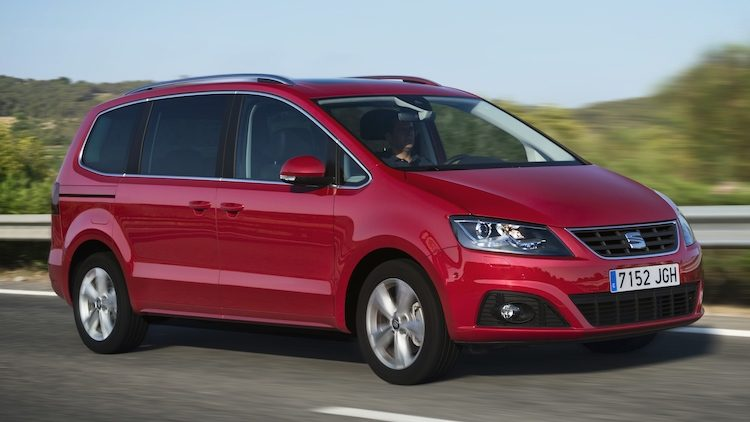 seat Alhambra 1.4 TSI DSG Style Connect (7N) '14