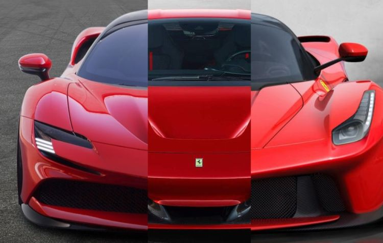 SF90/F8/LaFerrari
