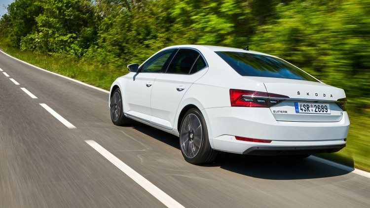 Skoda Superb iV '19