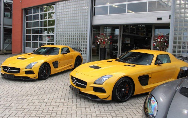 Gespot: 2x SLS AMG Black Series in Nederland