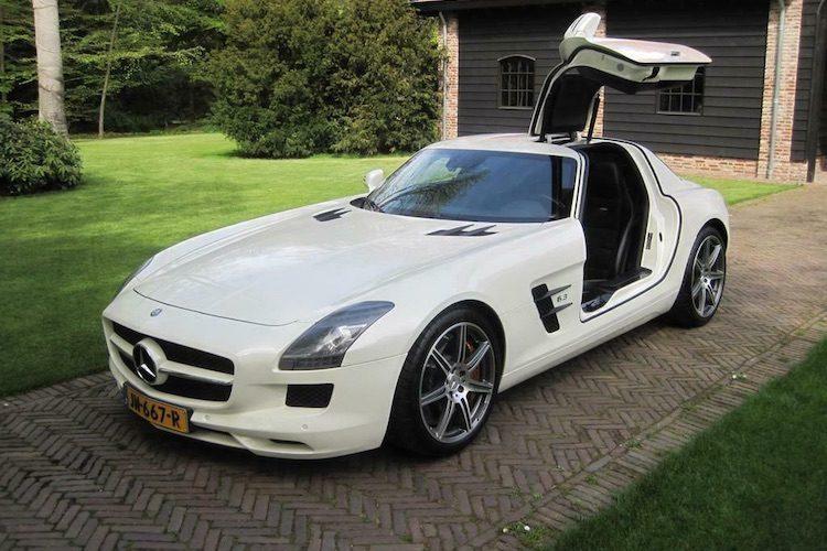 René Froger zet zijn Mercedes SLS te koop