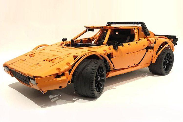 Deze Stratos kun je maken van je LEGO 911 GT3 RS!