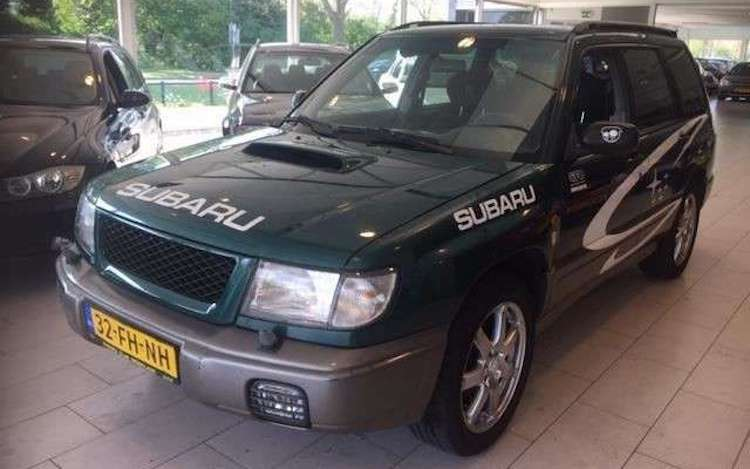 Subaru Forester S Turbo '01