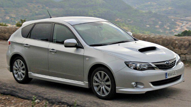 Subaru Impreza 2.0D Sport (GH) '08