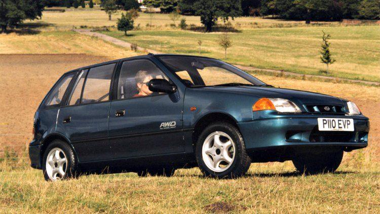 Subaru Justy 1.3 GX AWD '96