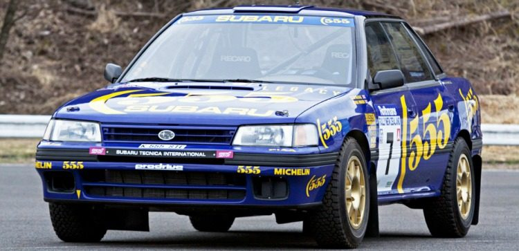 Subaru Legacy RS Group A (BC) '92