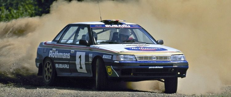 Subaru Legac RS Rally Car Prodrive (BC) '90