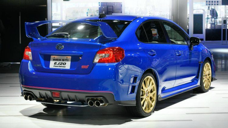 Subaru WRX STI EJ20 Final Edition '19