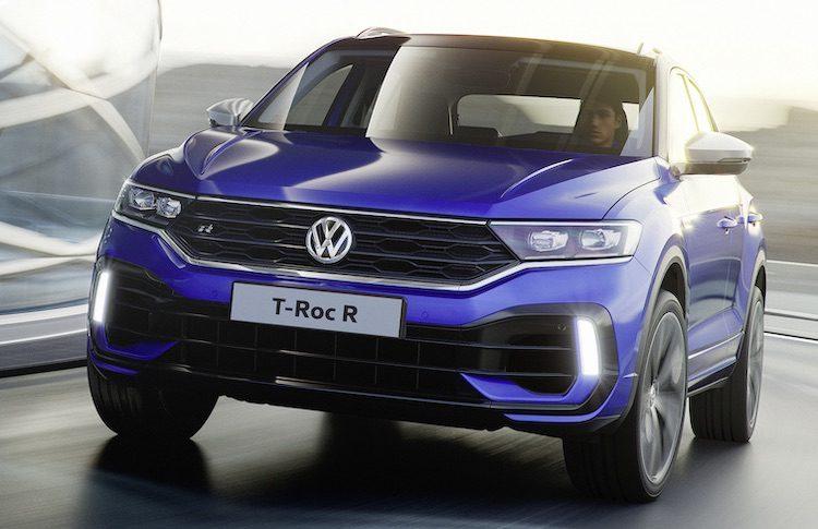 Hier, de Volkswagen T-Roc R met 300 pk