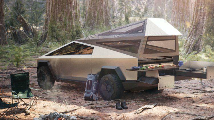 Tesla Cybertruck Concept Car '19