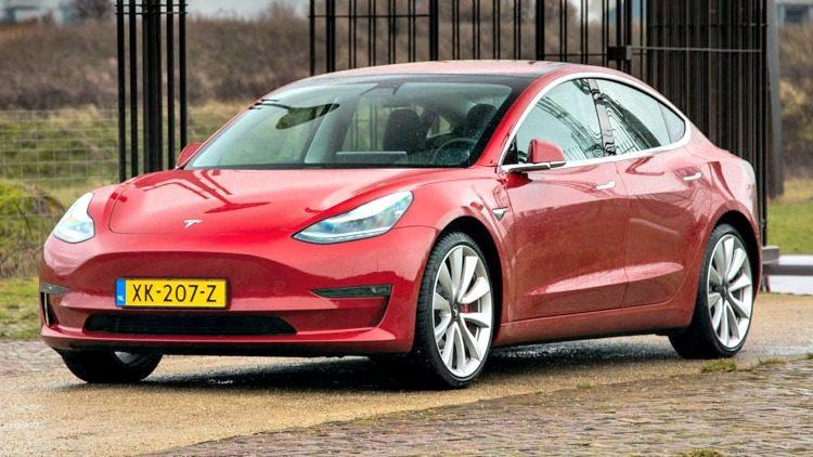 Achterwielaangedreven Tesla Model 3 niet meer leverbaar