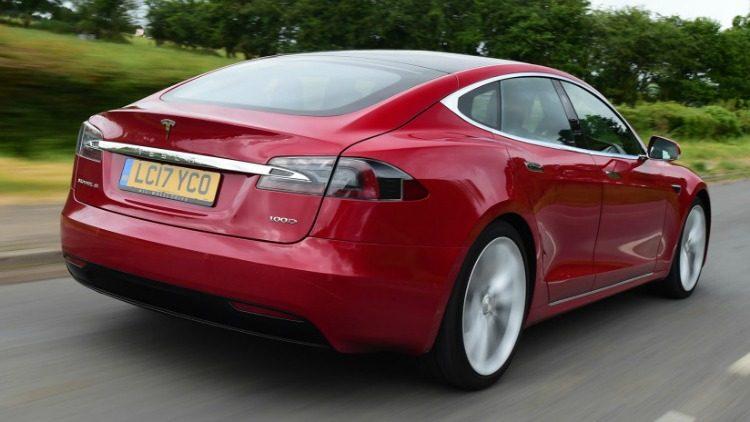 Tesla Model S P100D '19