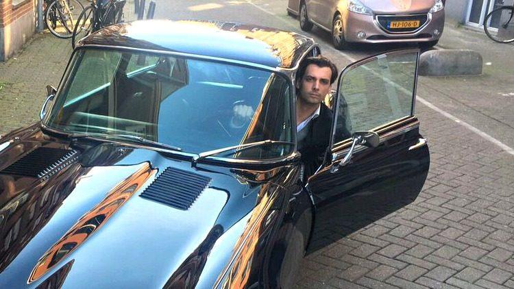 Jaguar E-Type Thierry Baudet