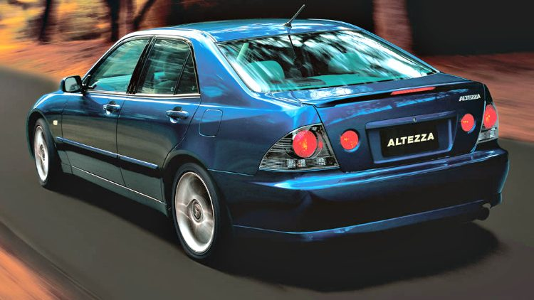 Toyota Altezza RS Z Edition (SXE10) '01