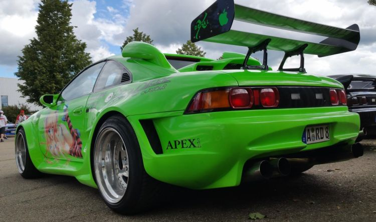 MR2 tuning groen