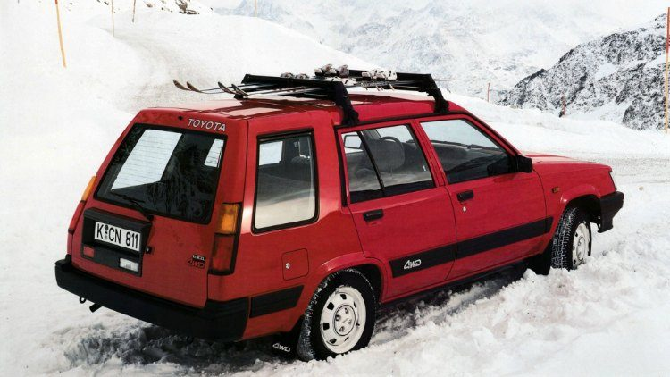 Toyota Tercel Wagon 1.5 AWD (AL25) '83