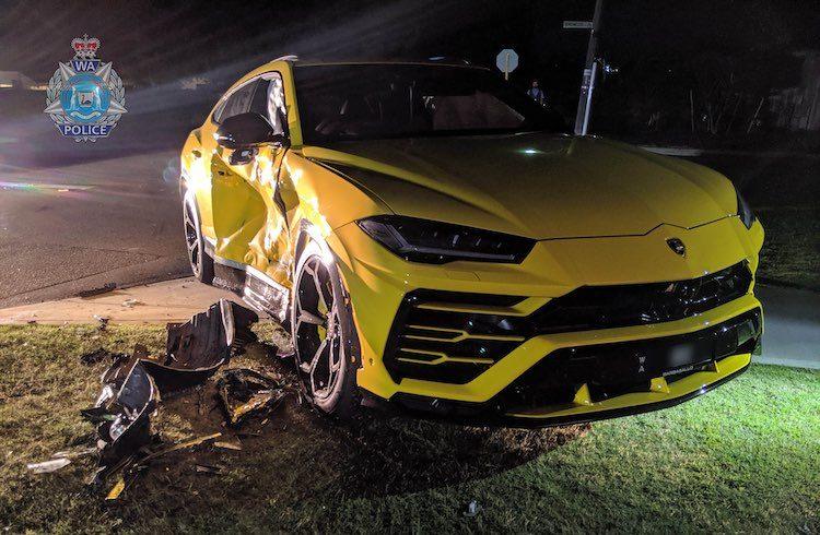 14-jarige klapt op Lamborghini Urus in gestolen auto