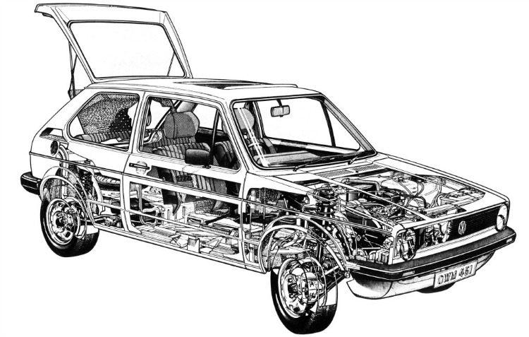 Volkswagen Golf '74