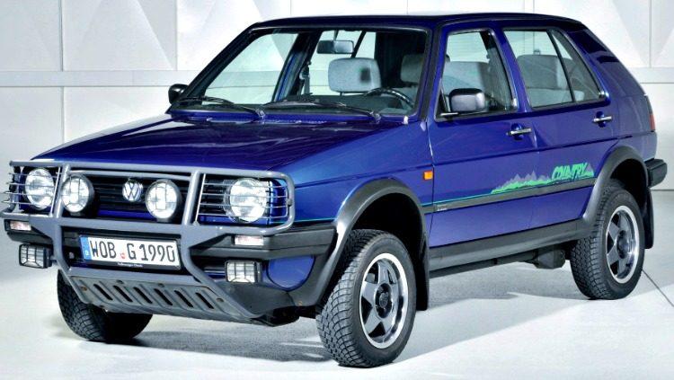 Volkswagen Golf Country (Typ 1G) '90