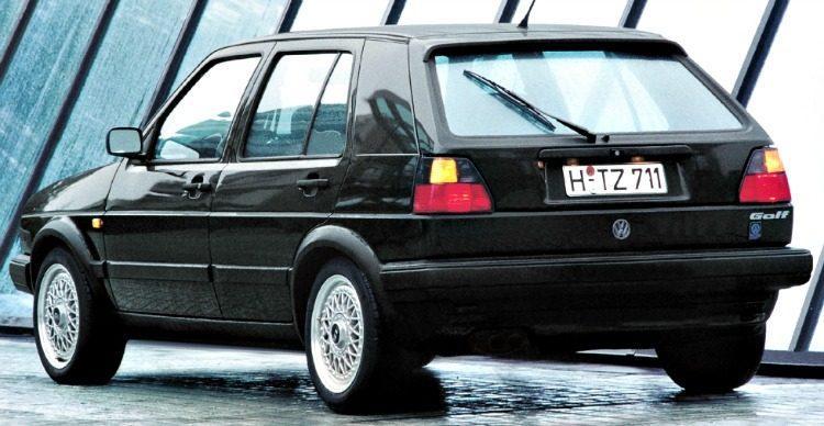 Volkswagen Golf G60 Limited (Typ 1G) '89