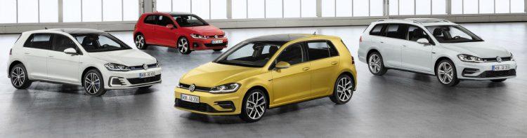 Volkswagen Golf model range '18