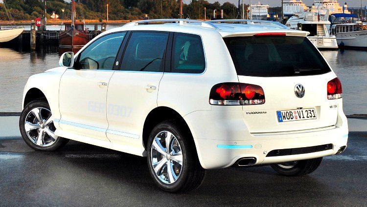 Volkswagen Touareg North Sails (7L) '08