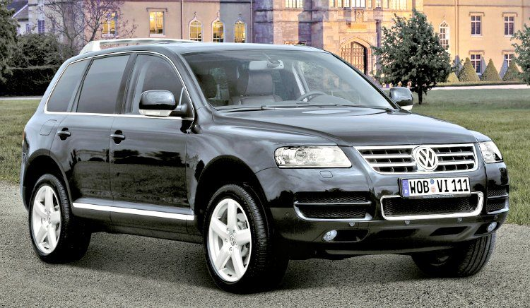 Volkswagen Touareg W12 Executive (7L) '05
