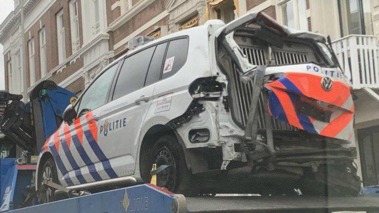 Politie crash