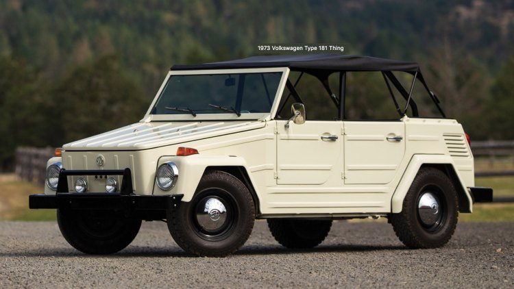 Volkswagen Type 181 'Thing' '73