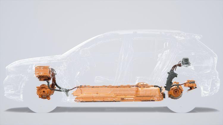Volvo XC40 aandrijflijn