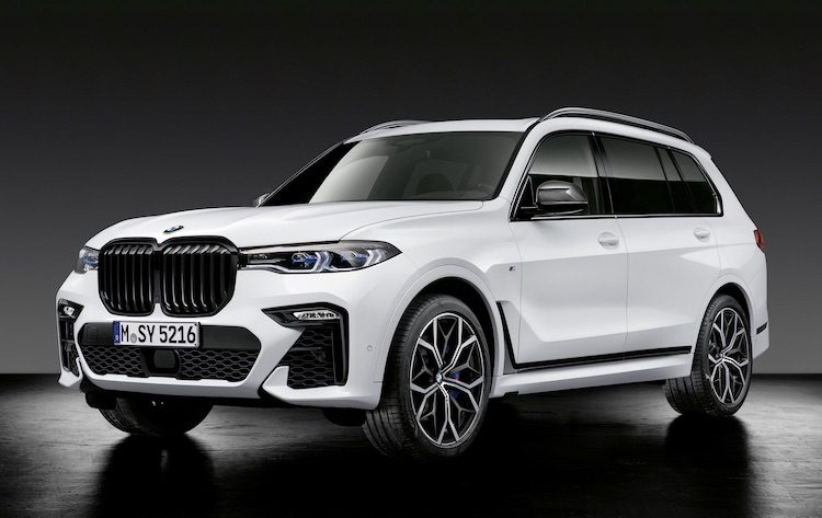 BMW dropt M Performance bom op X5 (M), X6 (M) en X7