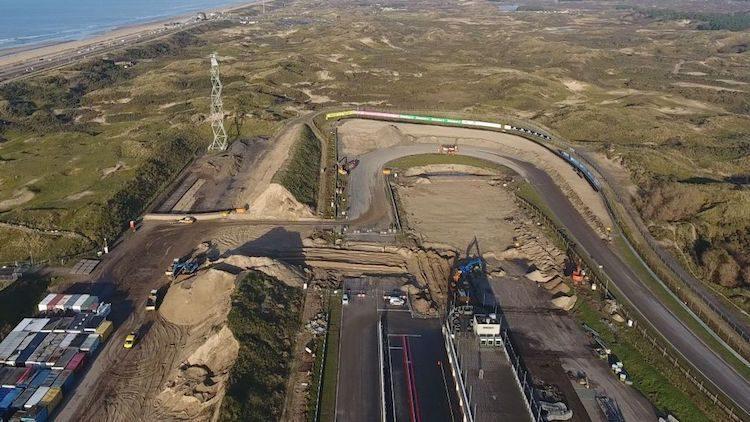 Baan van Circuit Zandvoort is in februari klaar